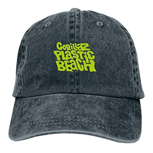 Unisex G-orillaz Virtual Band Music Videos Rock Hip Hop Logo Hip Hop Baseball Cap Adjustable Cowboy Hat Navy