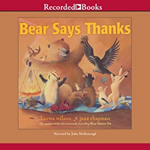 Bear Says Thanks Audiobook