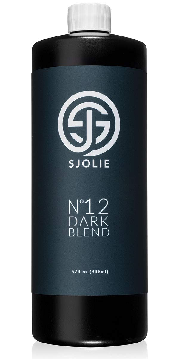Spray Tan Solution - SJOLIE No. 12 - DARK Blend (32oz)