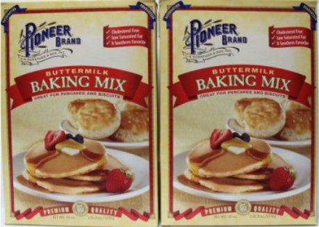 Price comparison product image Pioneer Buttermilk Biscuit & Baking Mix 40 oz Box (Pack of 2)