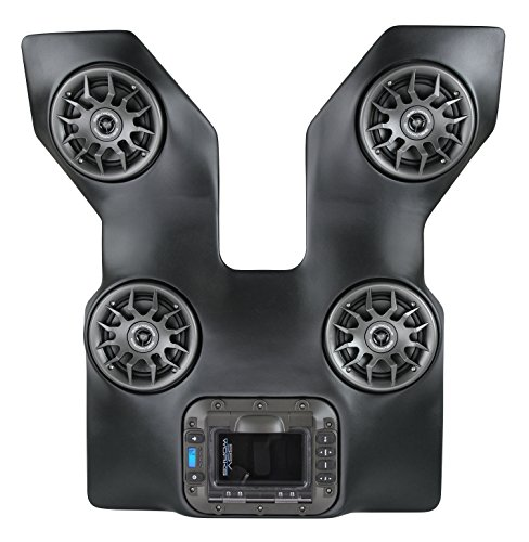 SSV Works WP-WC2O4 Arctic Cat Wildcat Trail and Sport BLUETOOTH 4 Speaker Overhead Stereo System by SSV Works