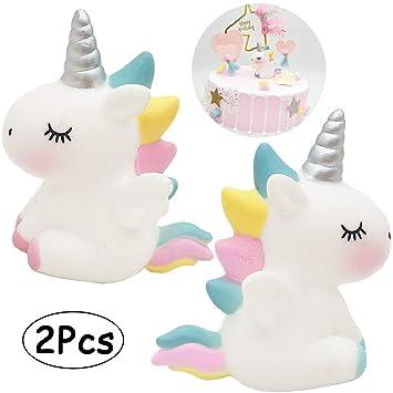 Amazon.com: Decoración para tarta para niños, fiesta de ...