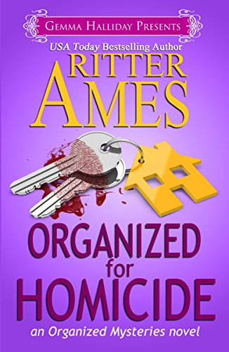 Get the second book in this USA TODAY bestselling cozy mystery series at a rare discount price – just for KND readers! Organized for Homicide (Organized Mysteries Book 2) by Ritter Ames