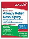 Leader Allergy Relief Nasal Spray, 0.54oz Each (Pack of 12)
