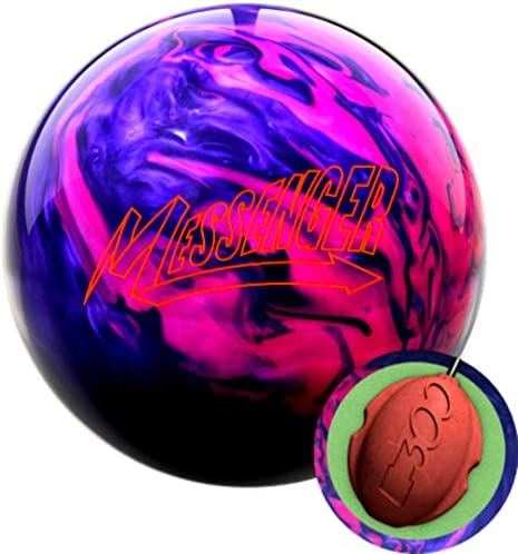 Columbia 300 Messenger Pink Purple Bowling Ball