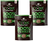 (3 Pack) Wellness 2 oz Dog Core 100% Turkey Snack Freeze Dried Treats