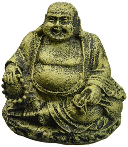 Penn Plax RR564 Mini Sitting Buddha Ornament Deco Replica
