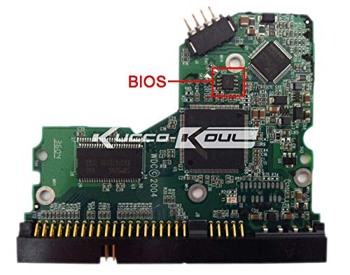 KIMME HDD PCB Logic Board 2060-001292-000 REV A for WD 3.5 IDE//PATA Hard Drive Repair Data Recovery