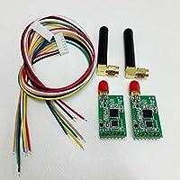 1 pcs lot negative oxygen ion / temperature humidity / PM2.5 wireless transmission 3km Environmental monitoring wireless module