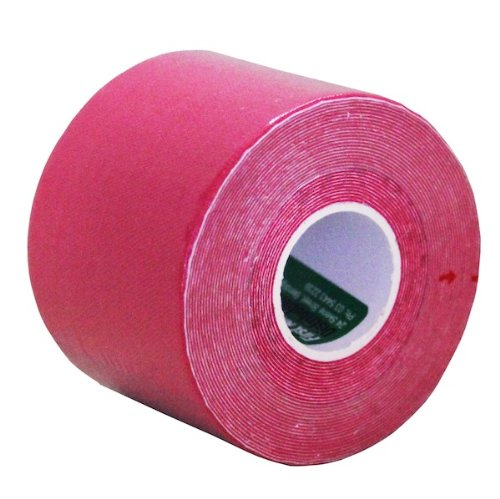 Kinesiology Tape - Choose Your Color! - Muscle Wrap - Adhesive Cotton Bandage (Pink)