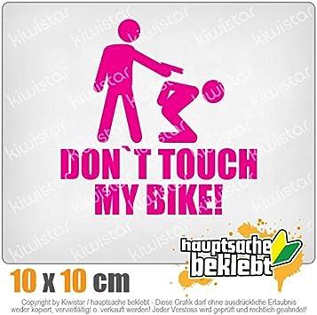 Dont touch my Bike! KIWISTAR Aufkleber Autoaufkleber Sticker Bomb Decals Tuning Bekleben
