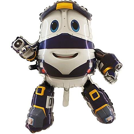 Toyland Es Globo Para Infantilamazon Kuxzip Train Fiesta Kay Robot c3Sq54ARjL