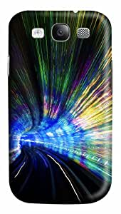Tunnel in ShangHai PC Case Cover for Samsung Galaxy S3 I93003D