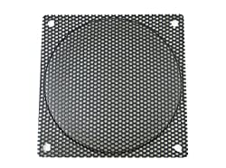 120mm Black Steel Computer Case Fan Mesh Grill Guard Filter - Medium Hole