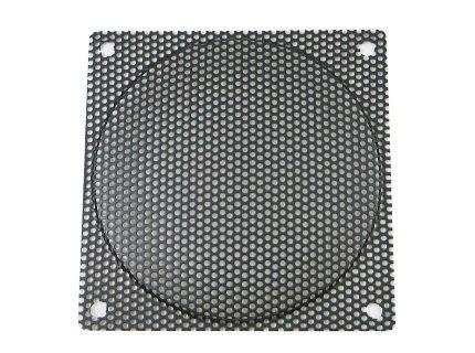 120mm Black Steel Computer Case Fan Mesh Grill / Guard / Filter - Medium Hole