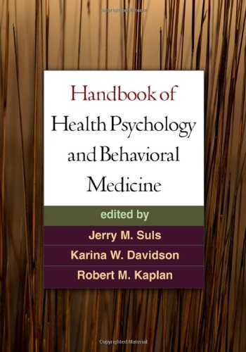 Handbook of Health Psychology and Behavioral Medicine by Brand: The Guilford Press