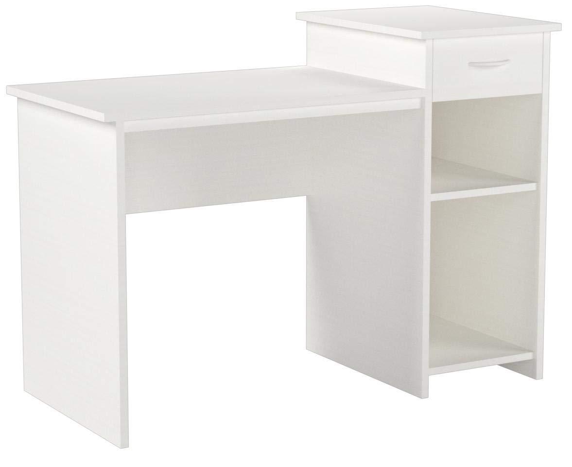 Toys & Child Mainstays Student Desk (White) (White) by Toys & Child