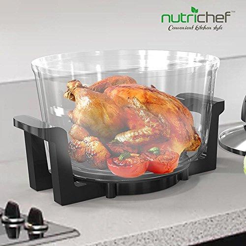 NutriChef Healthy Kitchen Air Fryer Roaster Oven