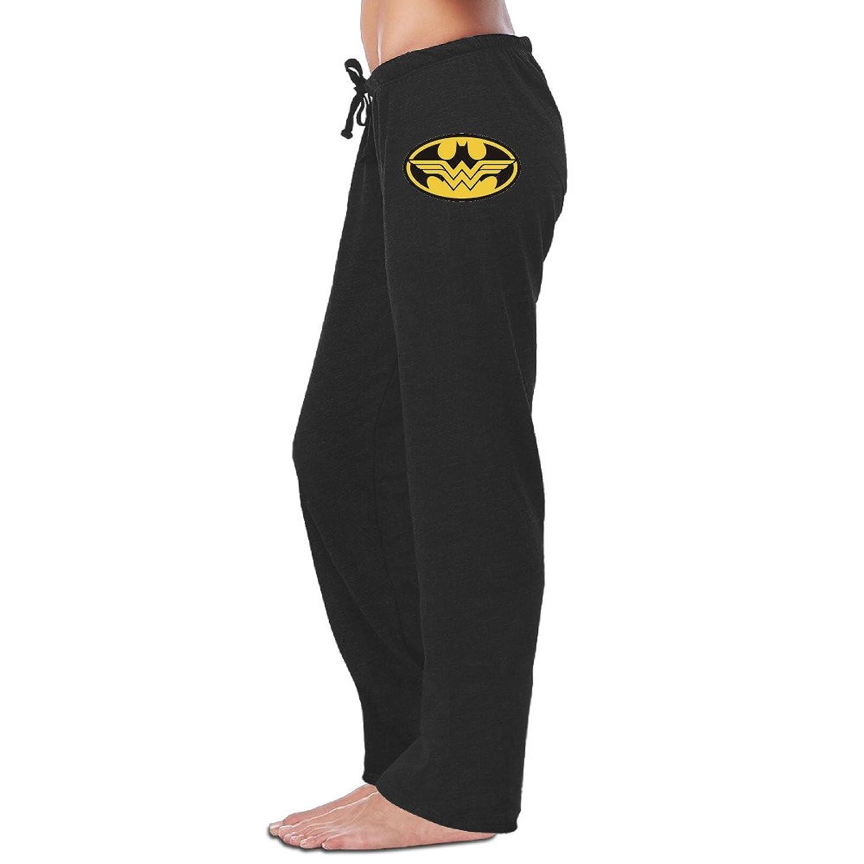 Iruds Women's Batman And Wonder Women Sweatpants