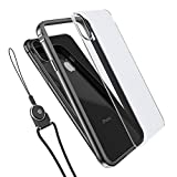 iPhone X Case, iPhone 10 Case, AOPETIO X Aluminum TPU Hybrid Bumper Case, Bumper Frame Shockproof Cover Skin for Apple iPhone X , Clear PC Back Panel Included For Free-[Black]