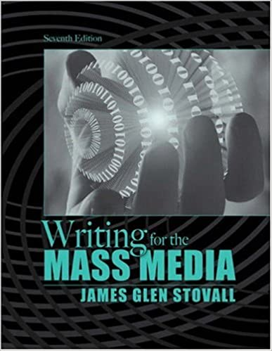 Writing for the mass media 7th edition pdf