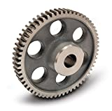 Boston Gear YB192 Spur Gear, Cast Iron, Inch, 16 Pitch, 0.875'' Bore, 12.125'' OD, 0.750'' Face Width, 192 Teeth