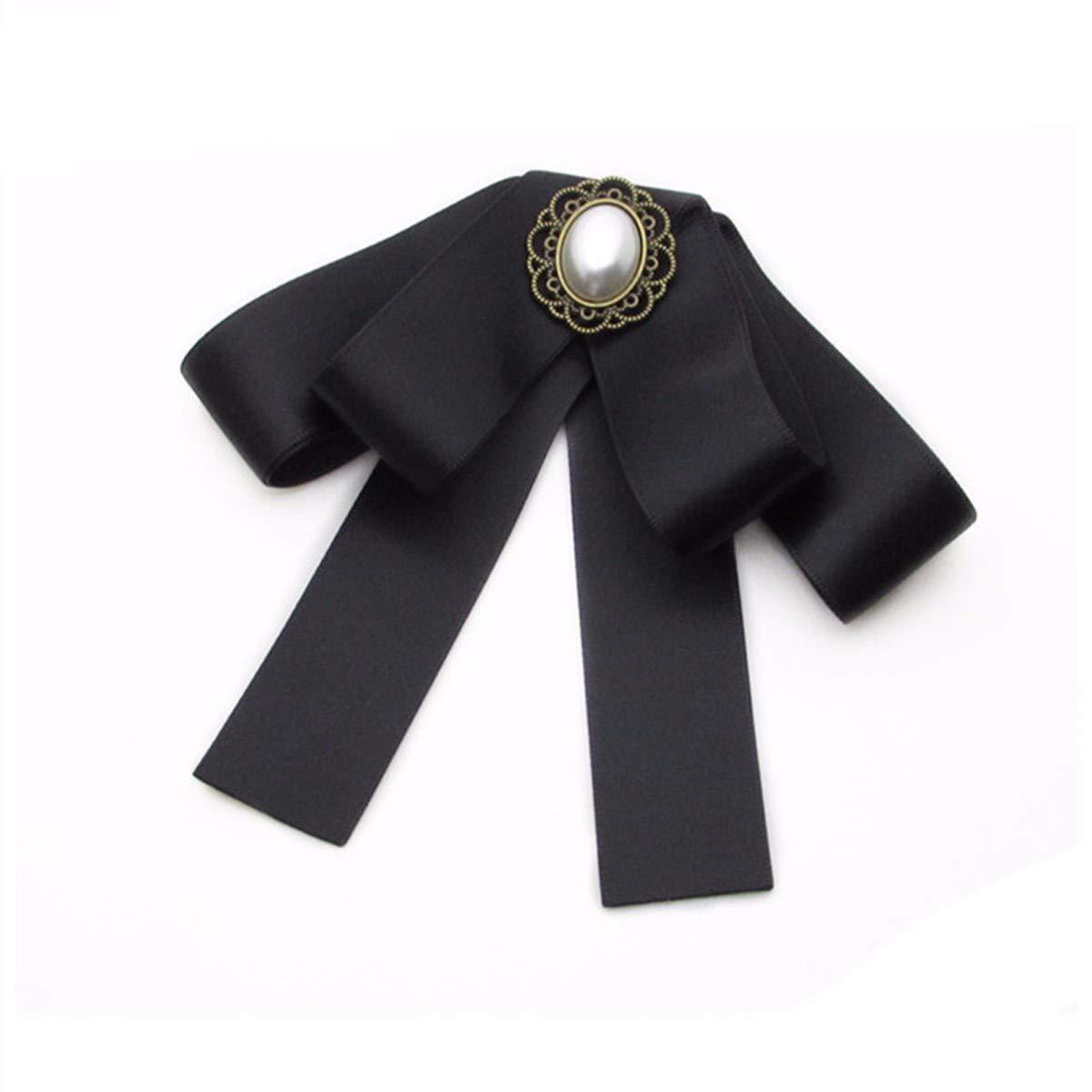 KUNQ-M/änner und Frauen Fliege Retro-Schleife Neckwear Mode Hemd Krawatte-Zubeh/ör