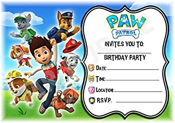 Image Unavailable Not Available For Colour Paw Patrol Party