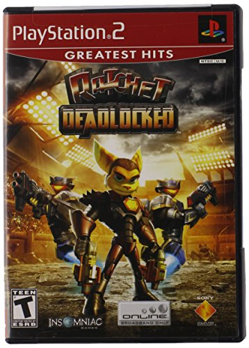 Ratchet Deadlocked - PlayStation 2 (Ratchet And Clank Up Your Arsenal Ps2)