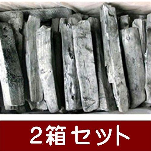 備長炭 炭 木炭 バーベキュー ラオス備長炭割L4-15kg 2箱セット 爆ぜの少ない高品質なマイチュー炭 item_link B074T8Q9GL