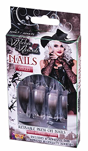 Witches And Wizards Nails (Halloween Witch Nails)