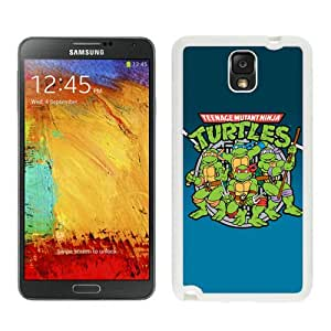 Unique Samsung Galaxy Note 3 Case ,Popular And Durable Designed With Teenage Mutant Ninja Turtles White Samsung Galaxy Note 3 Cover