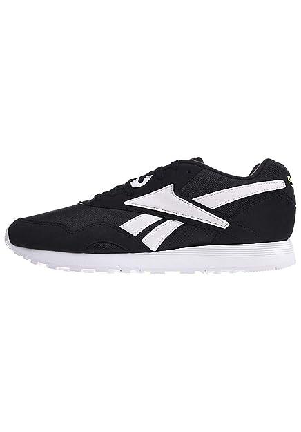 e5bd171c08c73f Reebok Shoes - Rapide Og Su Black White Yellow Size  45  Amazon.co ...