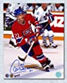 Guy Carbonneau Montreal Canadiens Autographed Captain 8x10 Photo