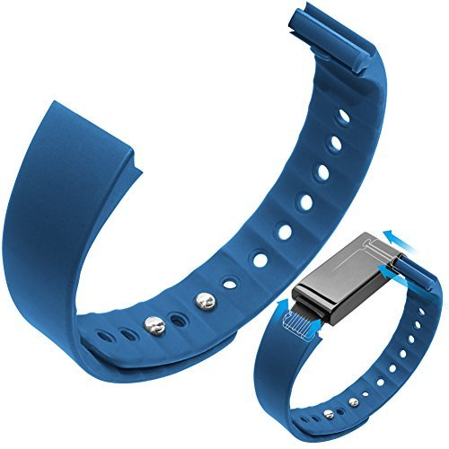 Toprime Replaceable Wristband Fitness Tracker