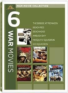 MGM Movie Collection: 6 War Films (The Bridge at Remagen / Beach Red / Beachhead / Ambush Bay / Mosquito Squadron / 633 Squadron)