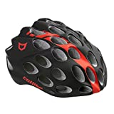 Catlike Whisper Bike Helmet without Visor, Black/Red, Small For Sale