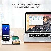 KONKY Cargador Inalámbrico Qi Wireless Charger & 3-in-1 Base de ...