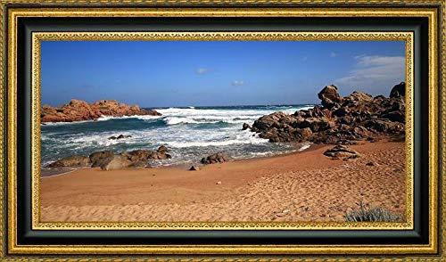 (Seascape-Sardinia-sea-roks-Sand by Giovanni Saiu - 27.25