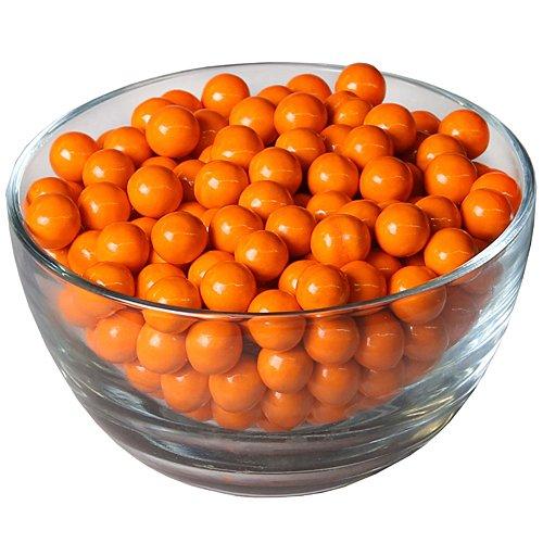SweetWorks Celebrations Candy Sixlets, 14 oz Bag, Orange]()