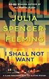 img - for I Shall Not Want (Clare Fergusson/Russ Van Alstyne Mysteries) by Julia Spencer-Fleming (2009-04-28) book / textbook / text book