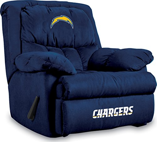 Mlb Recliner - Imperial Officially Licensed NFL Furniture: Home Team Microfiber Rocker Recliner, San Diego Chargers