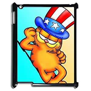 Mystic Zone Customized Cartoon Garfield Suitable For Ipad 3 Case Hard Case by supermalls
