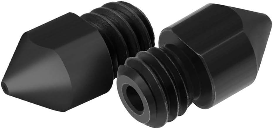 3pcs Hardened Steel Nozzles 0.4mm for 1.75mm Filament for Creality Ender 3//CR-10//CR-10S Pro//TEVO Tarantula Pro//TEVO Flash//Sapphire Pro 3D Printer Hotend Extruder 3D Printer Nozzle