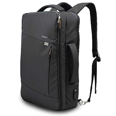 e3df17599c8d VORQIT (ボルチット) ビジネスリュック メンズ バッグ 3way USB充電ポート付き 大容量 出張