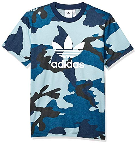 (adidas Originals Men's Camo Tee, Multi/Utility Black)