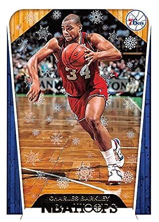bee0cdf1d49 2018-19 Panini NBA Hoops Winter/Holiday/Christmas #286 Charles Barkley  Tribute