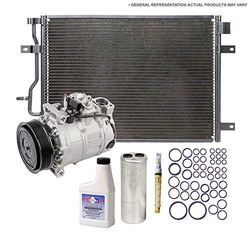 A/C Kit w/AC Compressor Condenser & Drier For Lincoln Continental 1993 1994 - BuyAutoParts 60-80646CK ()