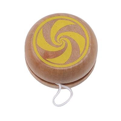 Timetries Mental Exercise Yo-Yo Balls Children's Toys Kids Parent-Child Classics Wood 1PC Gifts Tntelligenc: Toys & Games