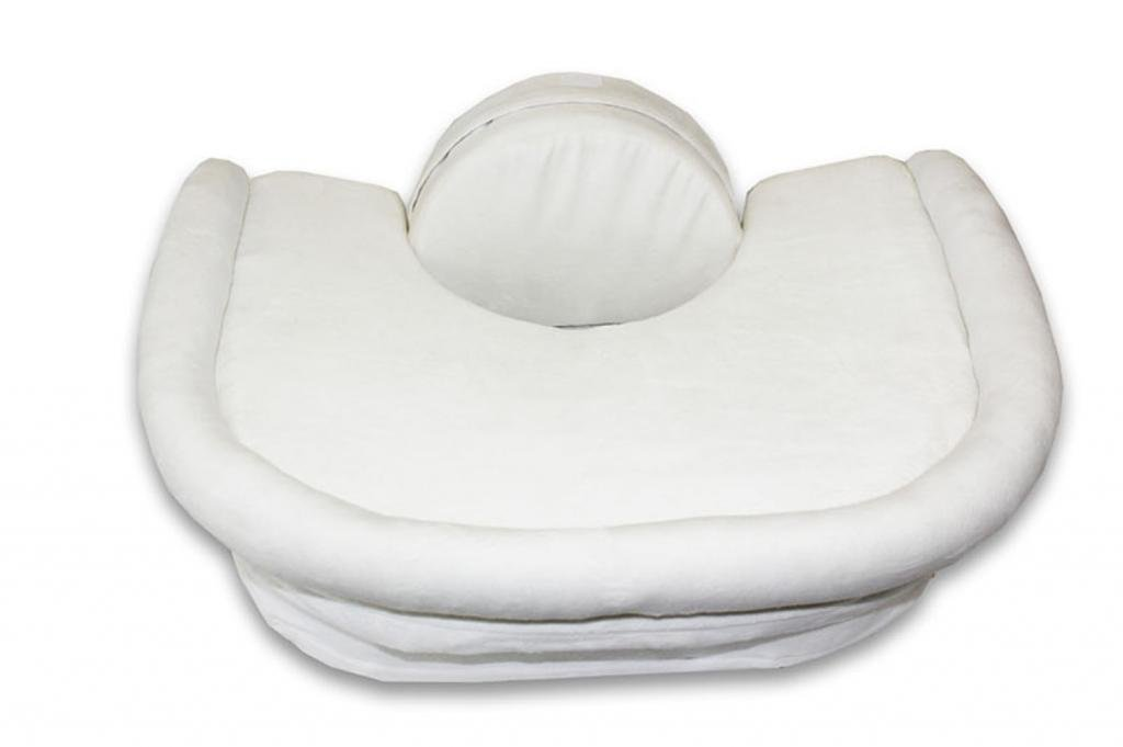 Baby Gear Baby Discreet Snuggle Me Organic Sensory Lounger For Baby In White